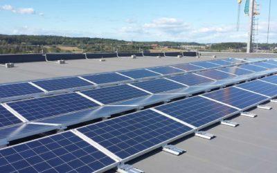 Norges største solcelleanlegg