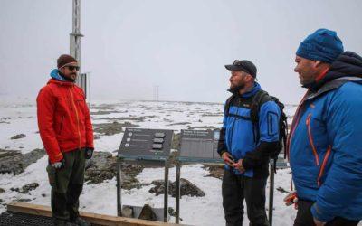 Kronprins Haakon åpner Mimisbrunnr klimapark