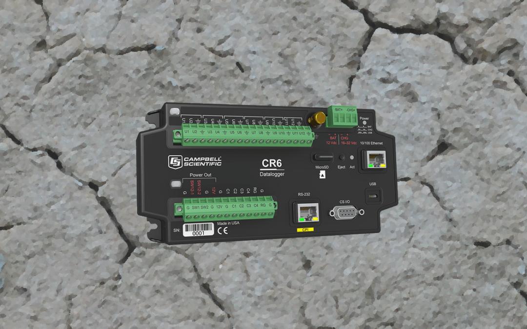 CR6 – Ny datalogger fra Campbell Scientific