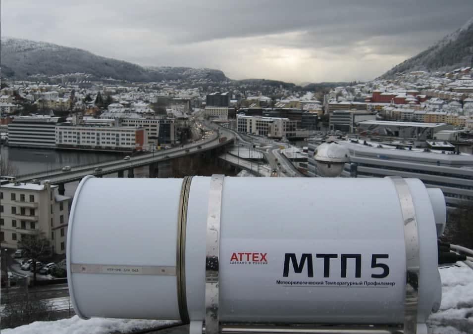 Første MTP5 Temperaturprofiler installert i Norge