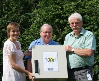 ITAS leverer produksjonsnr. 1000