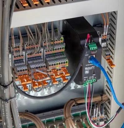 MeteoPV installert